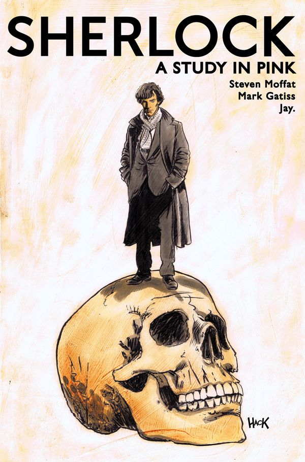 [Cover Art image for Sherlock: A Study in Pink]