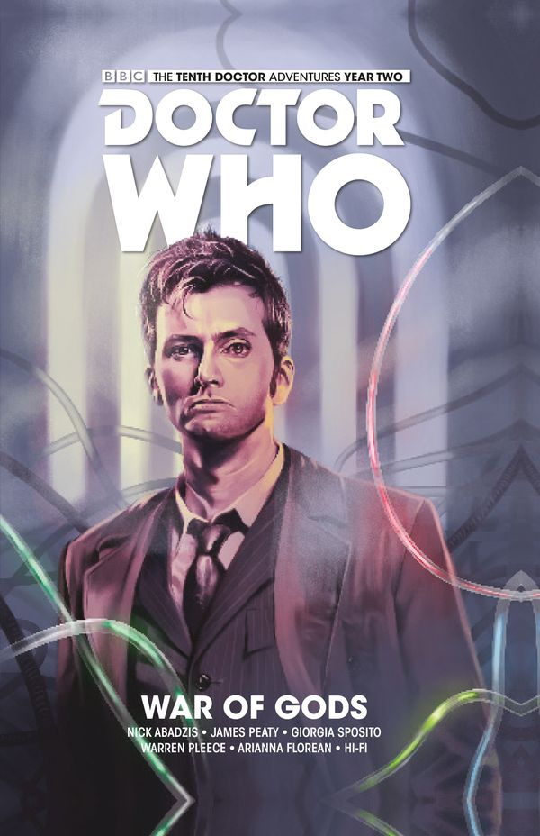 [Cover Art image for Doctor Who: The Tenth Doctor Vol. 7: War of Gods]