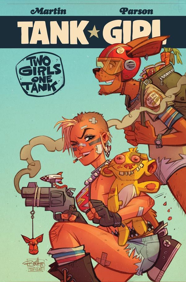 [Cover Art image for Tank Girl: Two Girls One Tank]