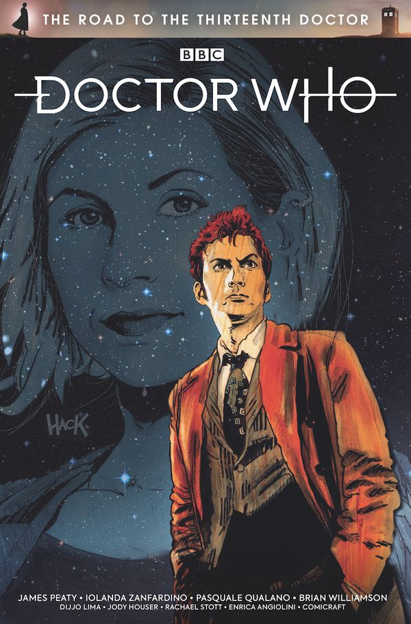 [Cover Art image for Doctor Who: The Road to the Thirteenth Doctor]