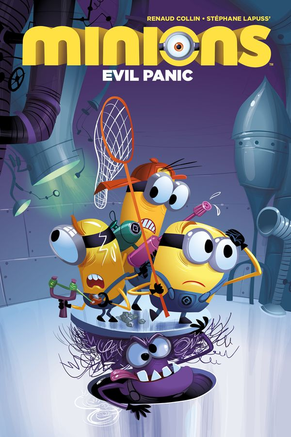 [Cover Art image for Minions: Evil Panic]