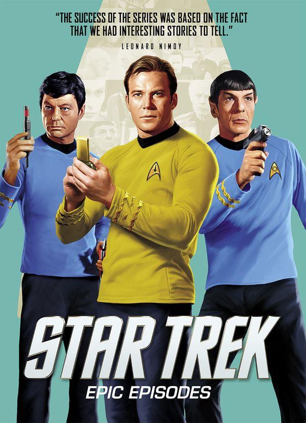 [Cover Art image for Star Trek: Epic Episodes]