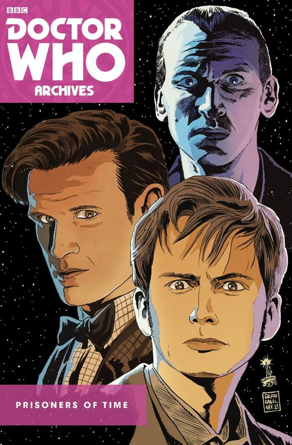 [Cover Art image for Doctor Who: Prisoners of Time Omnibus]