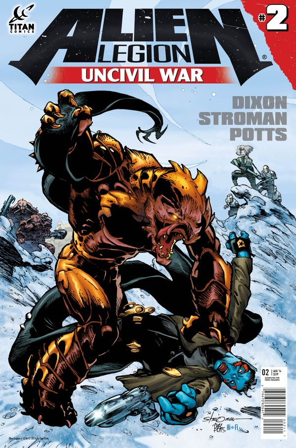 [Cover Art image for Alien Legion: Uncivil War]