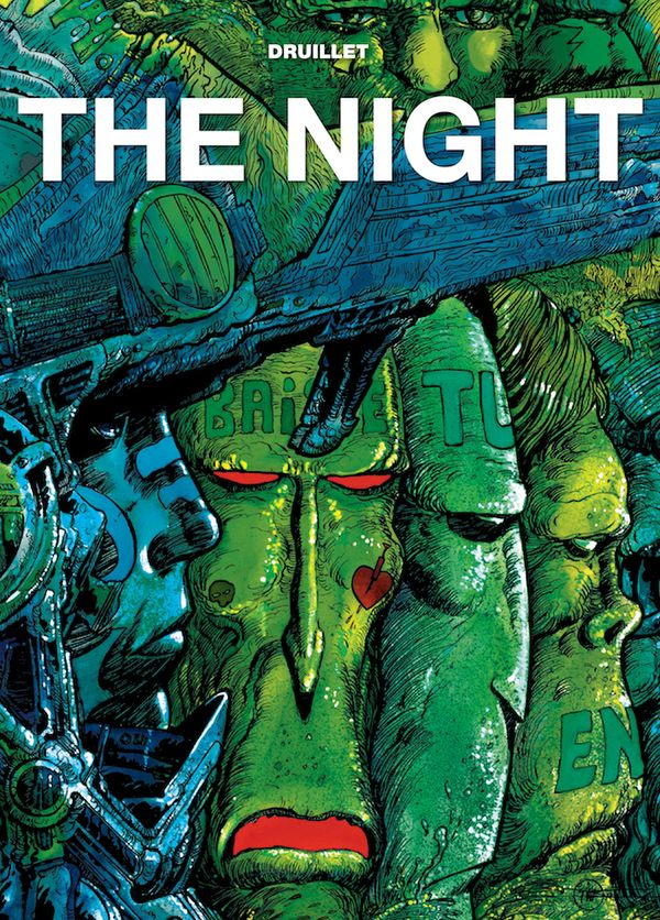 [Cover Art image for Druillet's The Night]