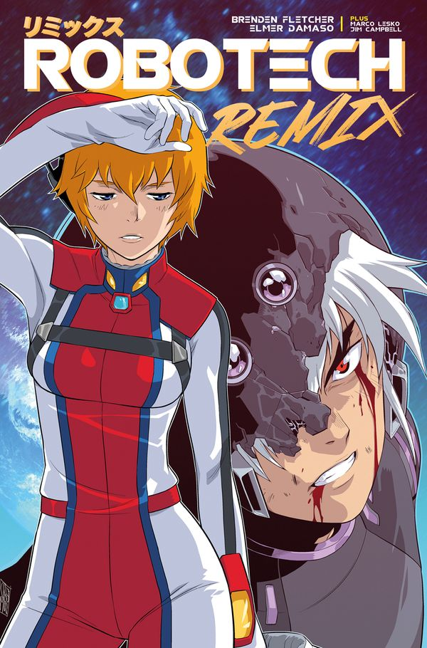 [Cover Art image for Robotech: Remix]