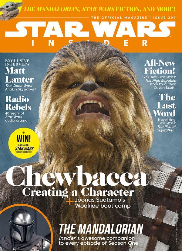 [Cover Art image for Star Wars Insider #201]