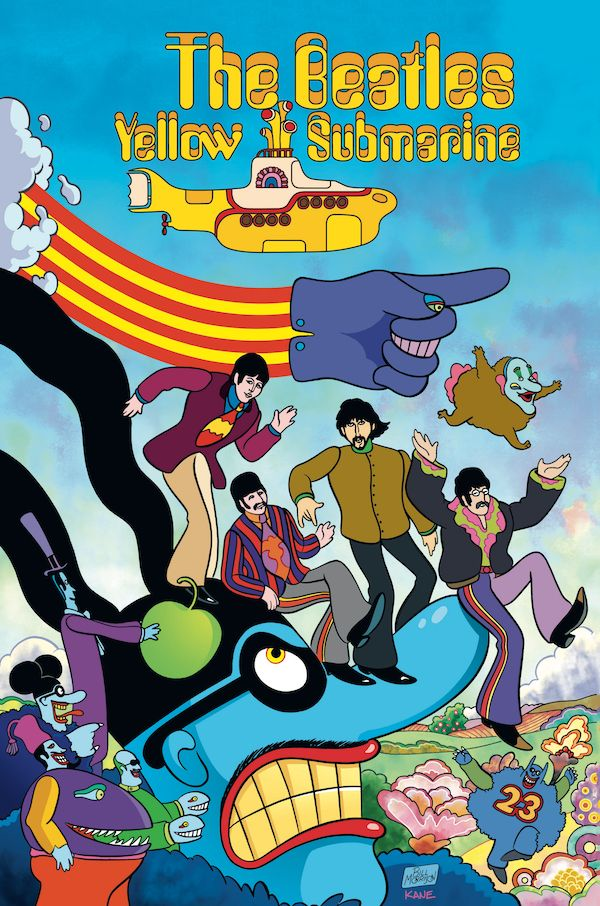 [Cover Art image for The Beatles Yellow Submarine]