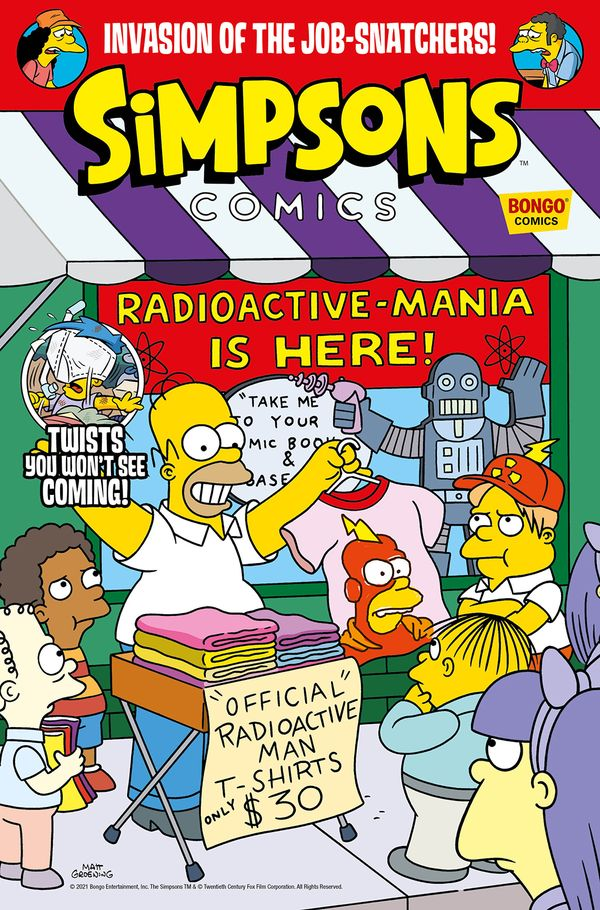 [Cover Art image for Simpsons Comics #42]