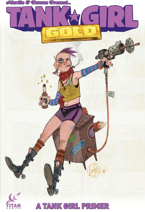 [Cover Art image for Tank Girl: Gold]