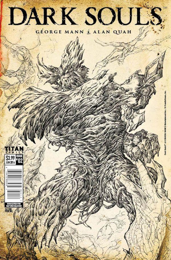[Cover Art image for Dark Souls: 2nd Print]