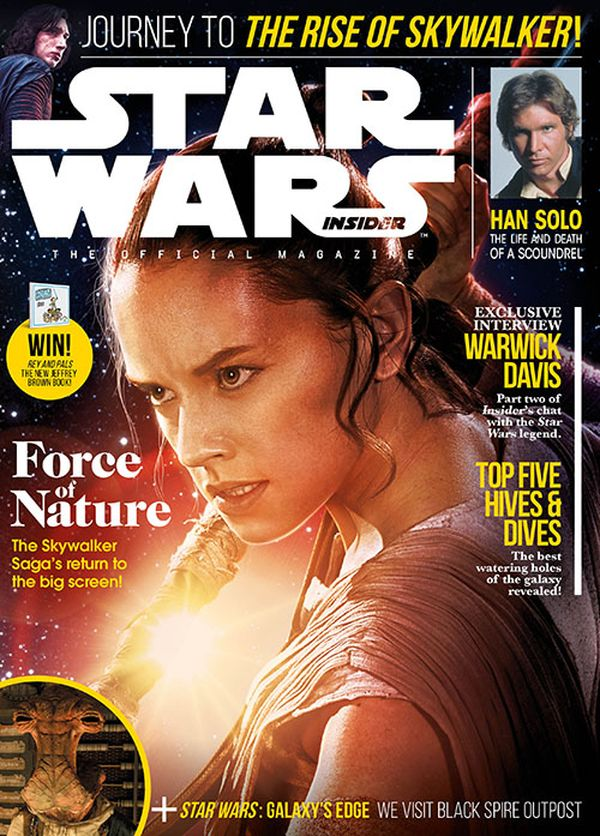 [Cover Art image for Star Wars Insider #192]