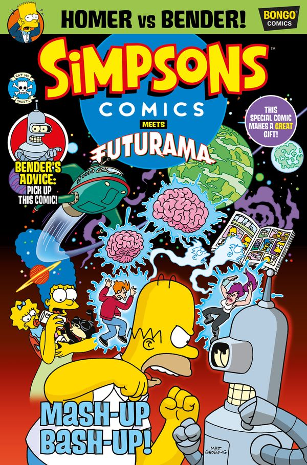 [Cover Art image for Simpsons Comics 29]