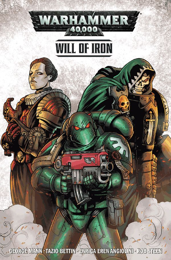 [Cover Art image for Warhammer 40,000 Vol. 1: Will of Iron]