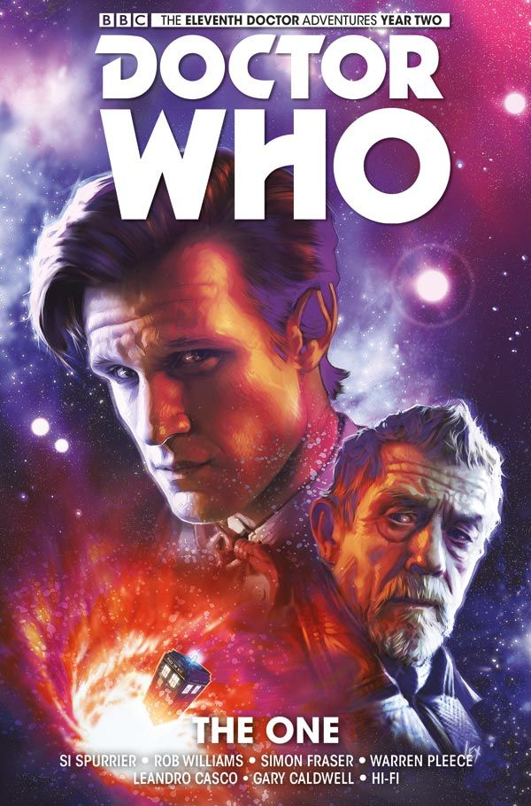 [Cover Art image for Doctor Who: The Eleventh Doctor HC]