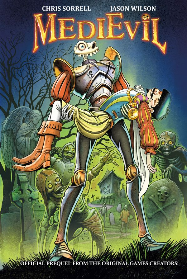 [Cover Art image for MediEvil]