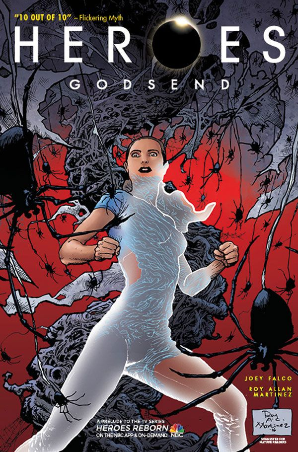 [Cover Art image for Heroes: Godsend]