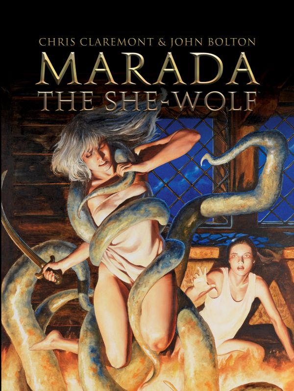 [Cover Art image for Marada The She-Wolf]