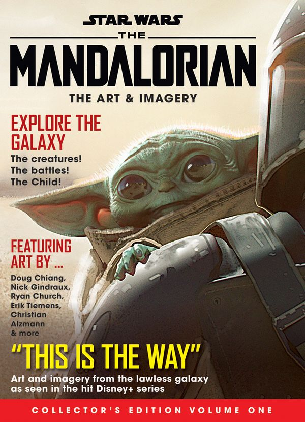 [Cover Art image for Star Wars: The Mandalorian - The Art & Imagery Collector's Edition Volume 1]