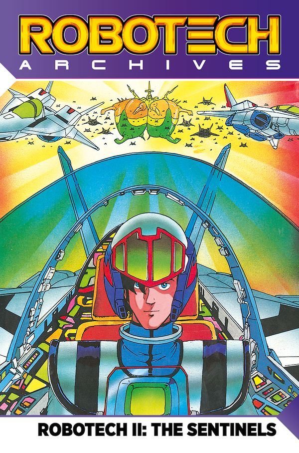 [Cover Art image for Robotech Archives: The Sentinels Vol.1]