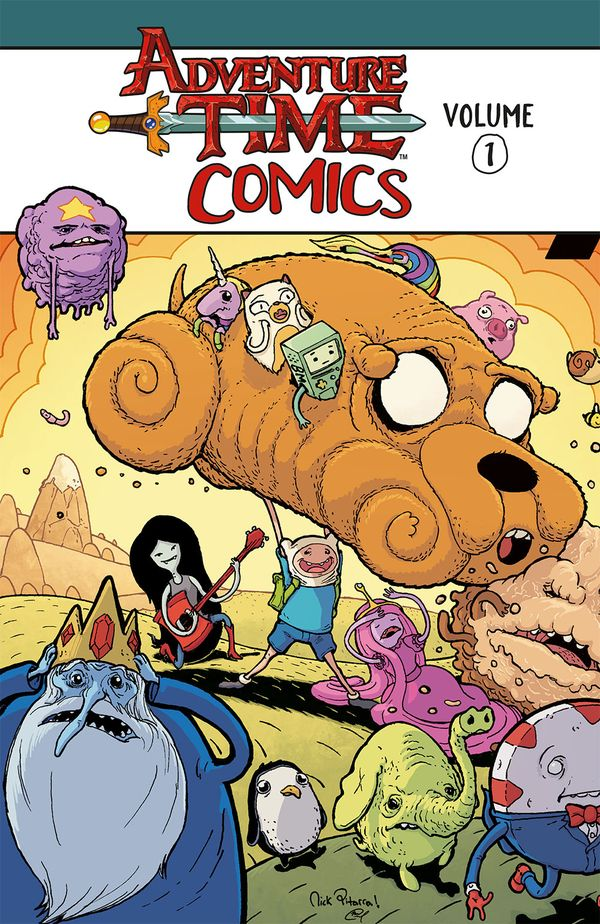 [Cover Art image for Adventure Time Comics Vol. 1]