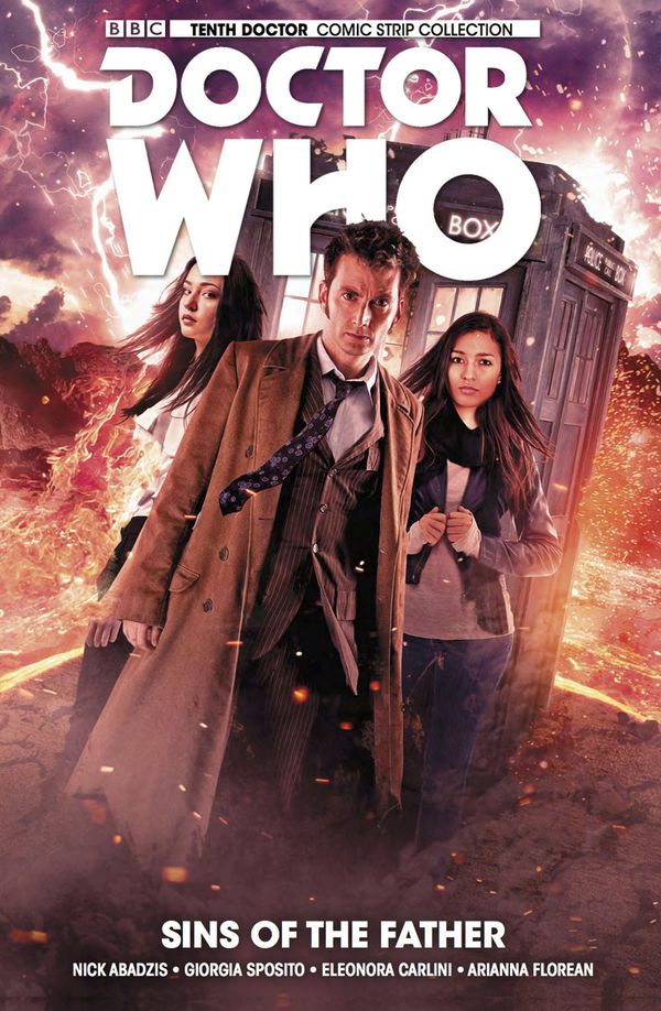 [Cover Art image for Doctor Who: The Tenth Doctor Vol. 6: Sins of the Father]