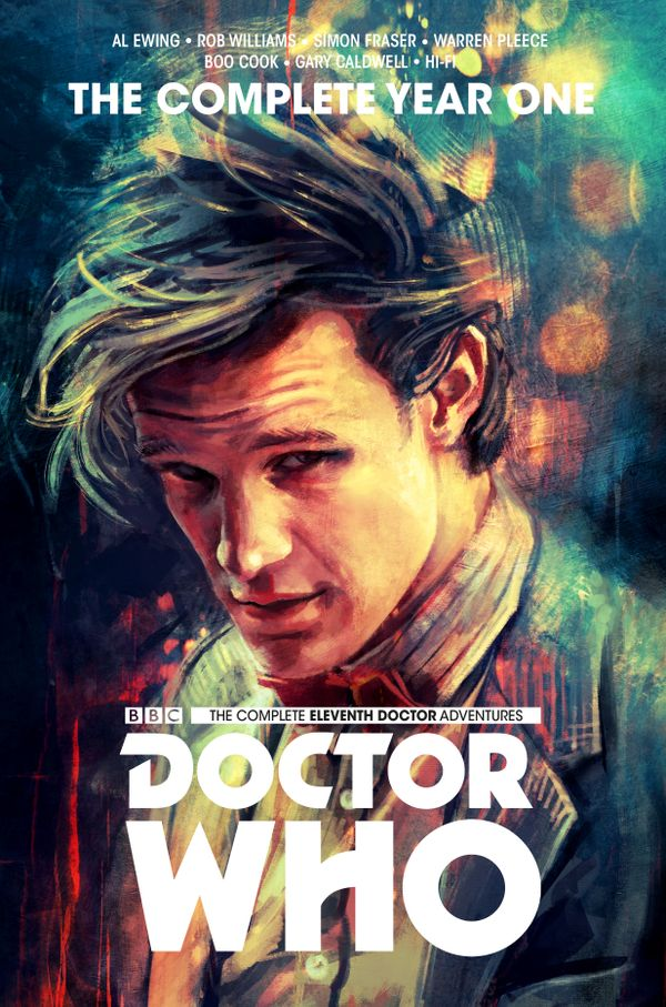 [Cover Art image for Doctor Who: The Eleventh Doctor Complete Year One]