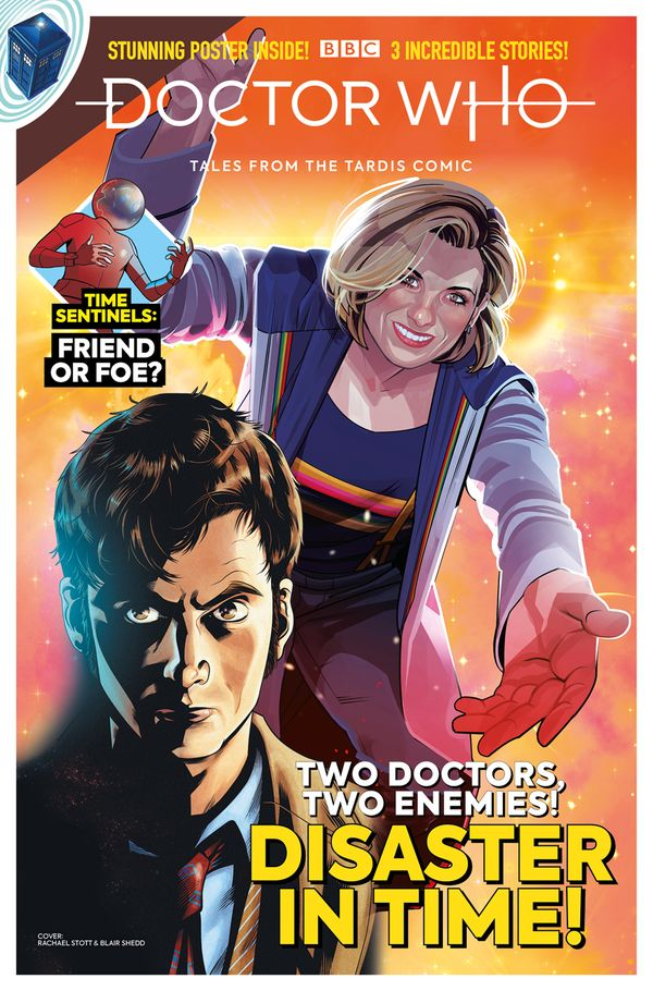 [Cover Art image for Doctor Who: Tales from the Tardis #3.2]
