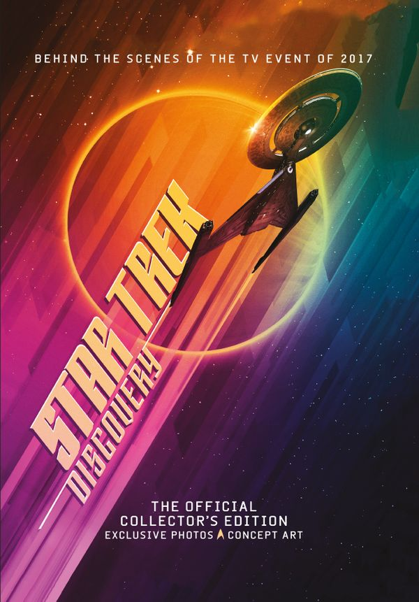 [Cover Art image for Star Trek Discovery: The Official Collector's Edition Book]