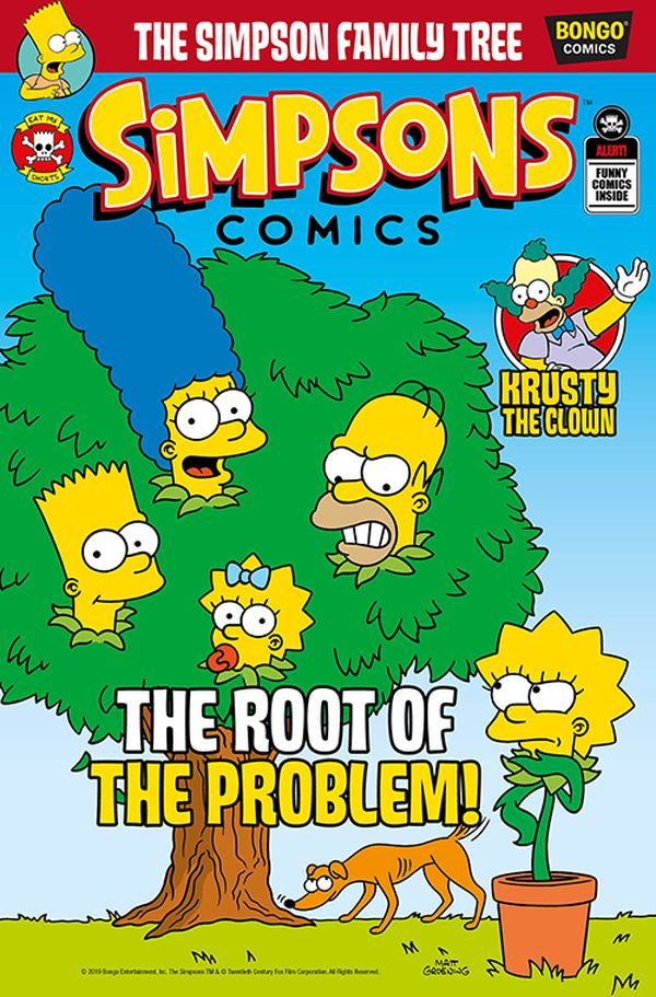 [Cover Art image for Simpsons Comic #28]