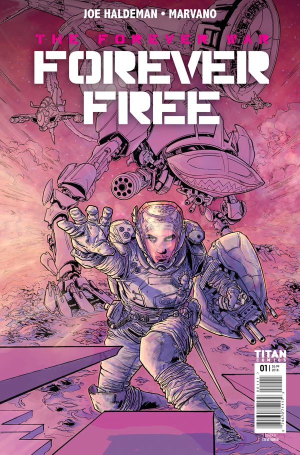 [Cover Art image for The Forever War: Forever Free]
