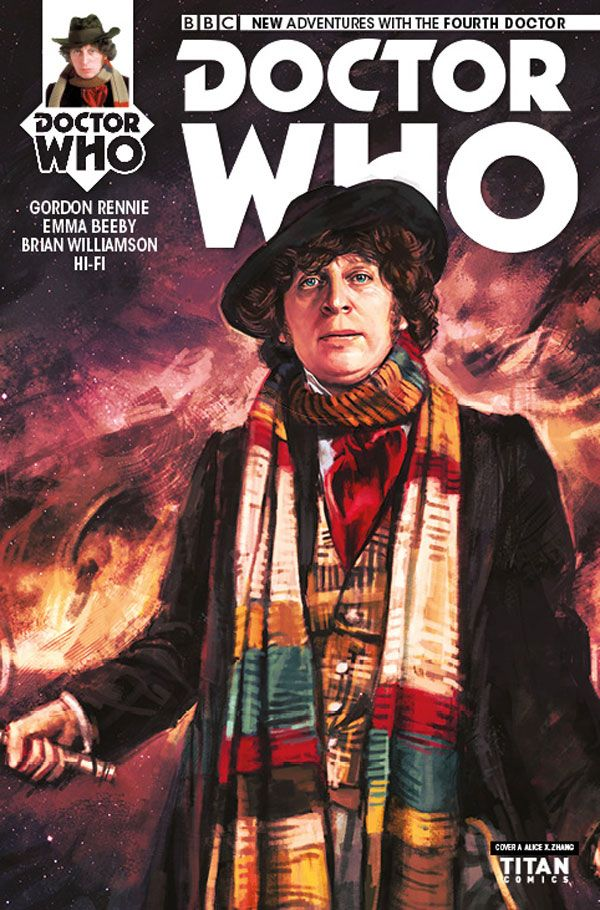 [Cover Art image for Doctor Who: The Fourth Doctor Miniseries]