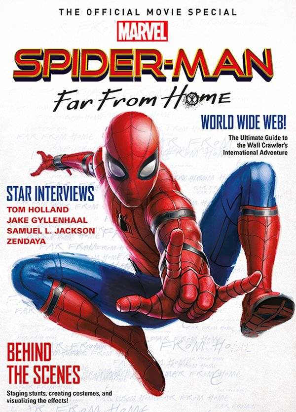 [Cover Art image for Spider-Man: Far From Home - The Official Movie Special]