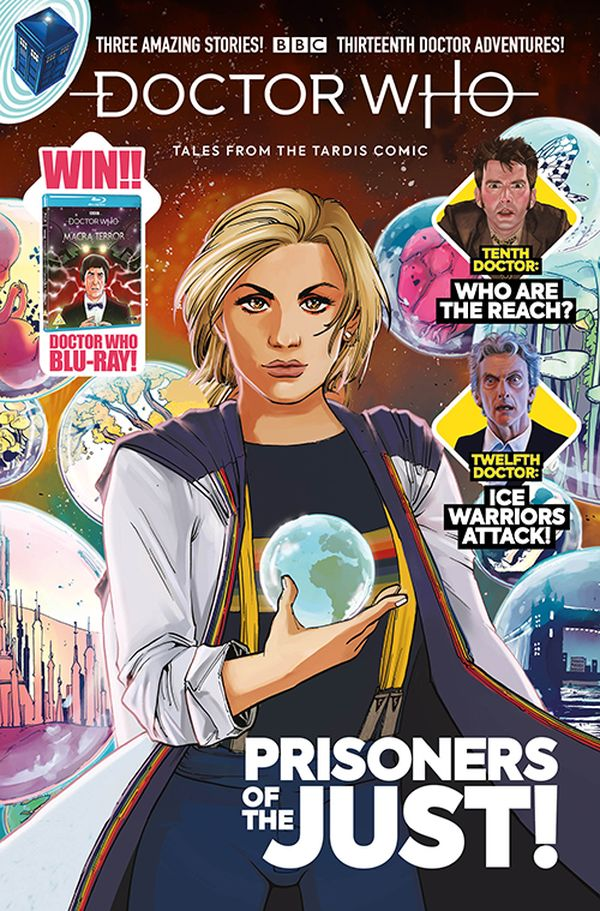 [Cover Art image for Doctor Who: Tales from the Tardis #2.4]