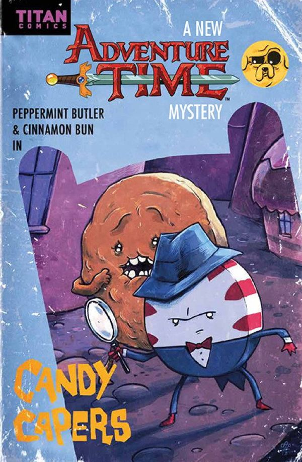 [Cover Art image for Adventure Time: Candy Capers]