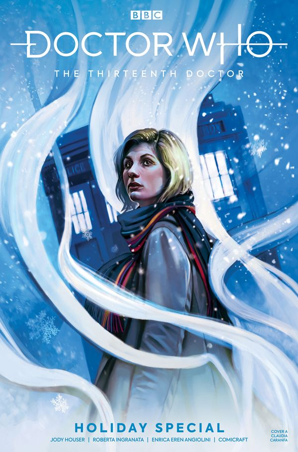 [Cover Art image for Doctor Who: The Thirteenth Doctor X-mas Special]