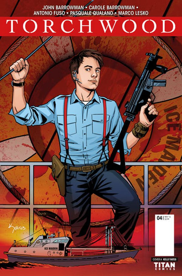 [Cover Art image for Torchwood]