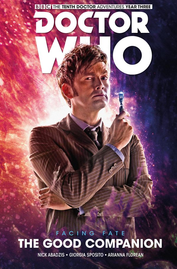 [Cover Art image for Doctor Who: The Tenth Doctor: Facing Fate Vol. 3: The Good Companion]