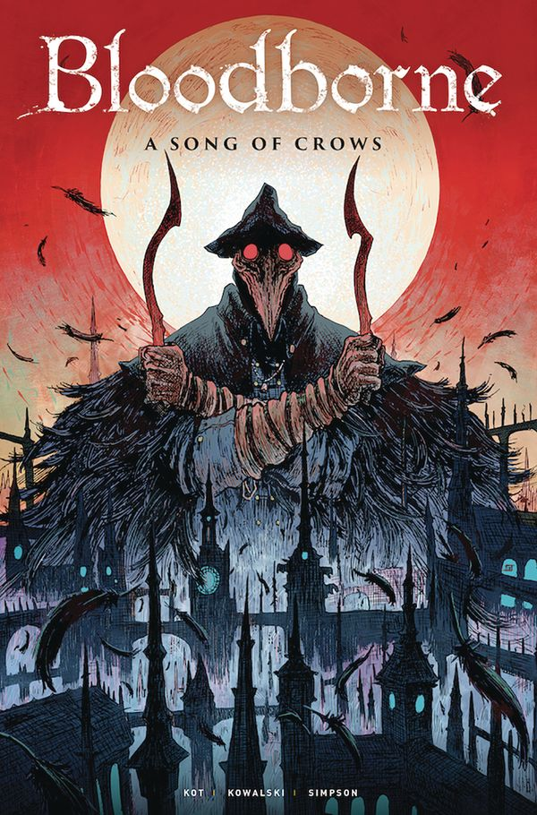 [Cover Art image for Bloodborne Vol. 3: A Song Of Crows]