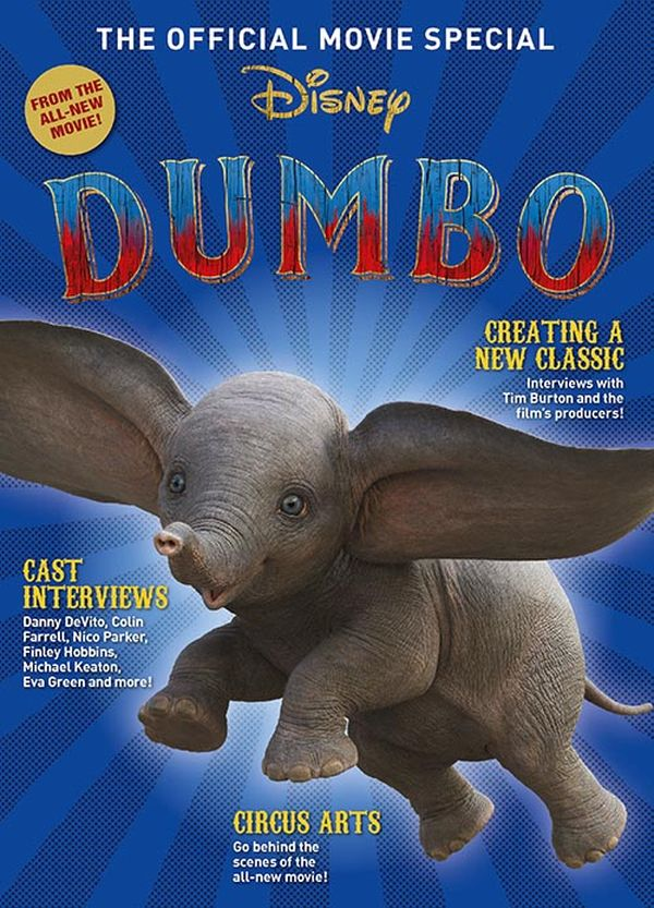 [Cover Art image for Disney's Dumbo: The Official Movie Special]