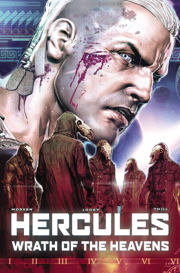 [Cover Art image for Hercules: Wrath of the Heavens]