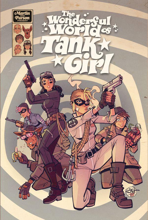 [Cover Art image for Tank Girl: The Wonderful World of Tank Girl]