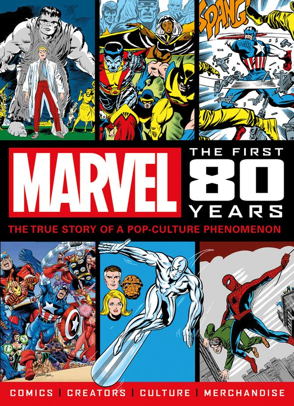 [Cover Art image for Marvel Comics: The First 80 Yers]