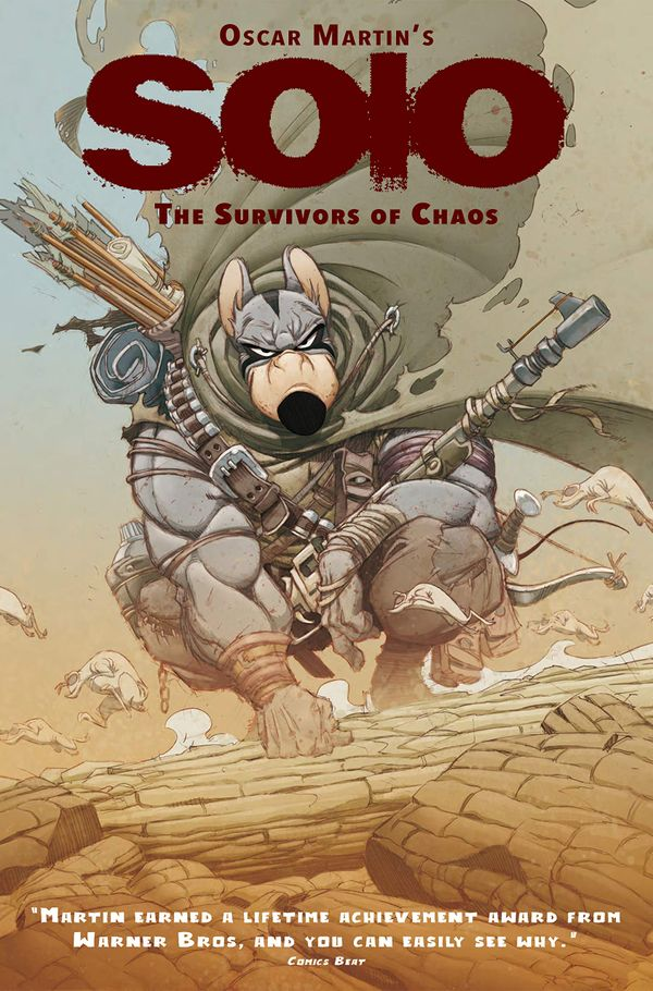 [Cover Art image for Oscar Martin's Solo Vol. 1: The Survivors of Chaos]
