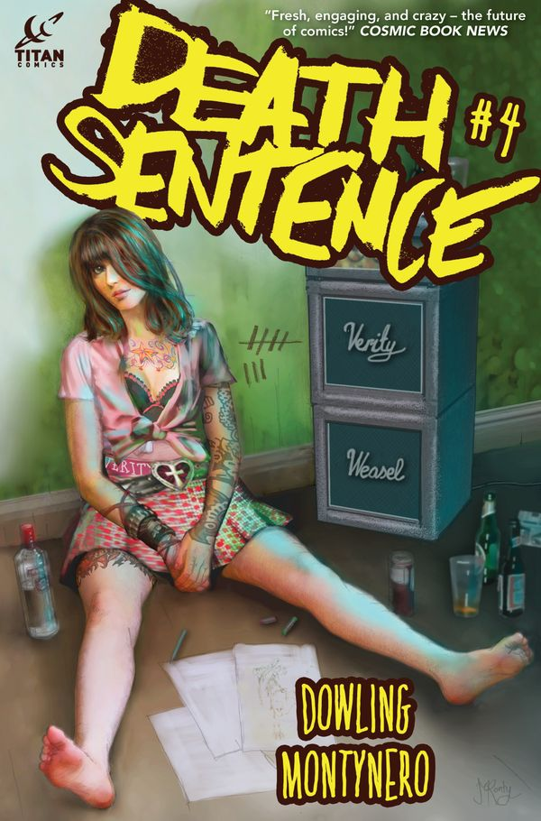 [Cover Art image for Death Sentence]