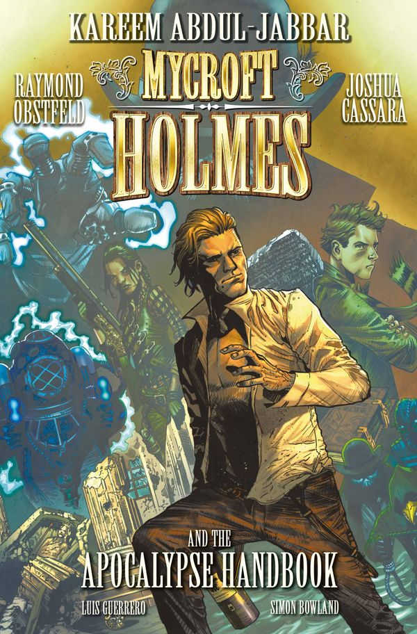 [Cover Art image for Mycroft Holmes and The Apocalypse Handbook]