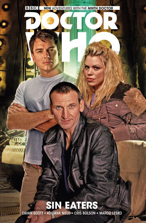 [Cover Art image for Doctor Who: The Ninth Doctor Vol. 4: Sin Eaters]