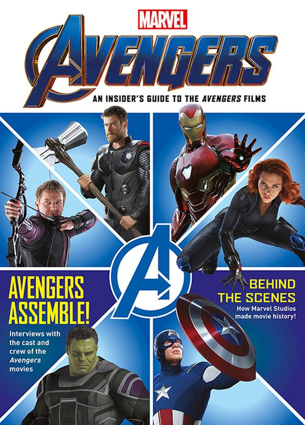 [Cover Art image for Marvel Avengers: An Insiders Guide to the Films]
