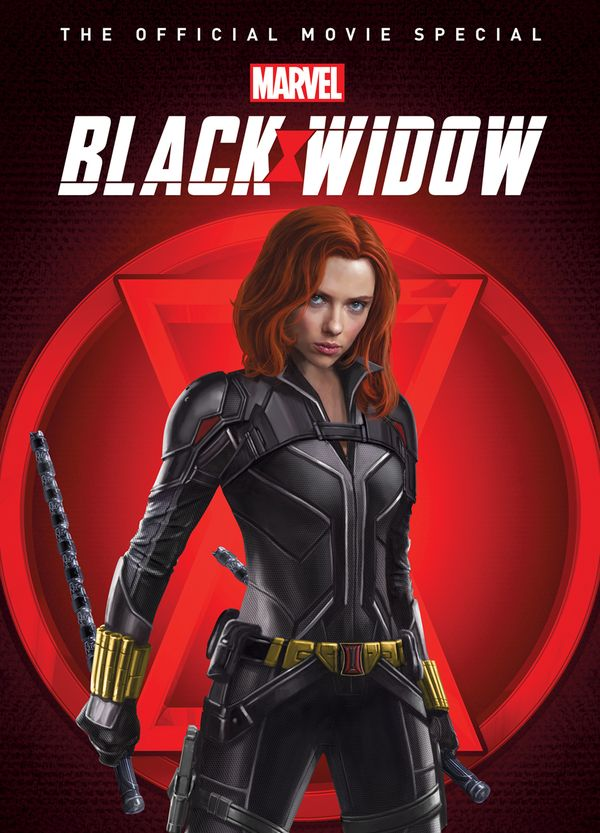 [Cover Art image for Marvel's Black Widow: The Official Movie Special Book]