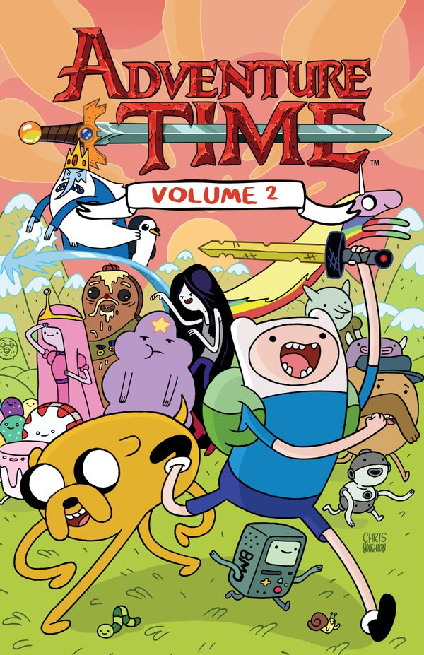 [Cover Art image for Adventure Time Vol. 2]